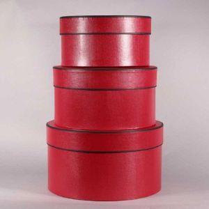 ROUND HAT BOXES S/3 BX2011